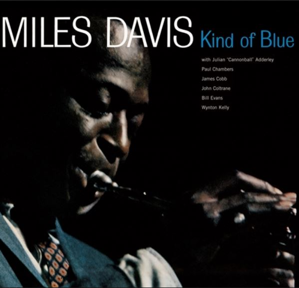 "Capa do disco ""Kind of Blue"""