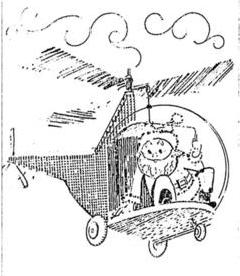 Anúncio publicado na Folha em 28 de novembro de 1966, em alertava para a chegada do Papai Noel no Shopping Center Iguatemi