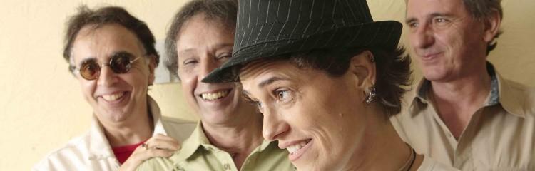 Reunidos em 2006 para turnê, os Mutantes, com Zélia Duncan, dão entrevista à Folha no hotel Pestana, no centro de São Paulo (foto: Caio Guatelli/ Folhapress - 26.nov.2006)