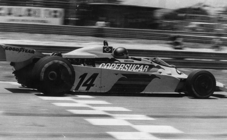 O piloto Emerson Fittipaldi da equipe Copersucar. (Foto: Folhapress)